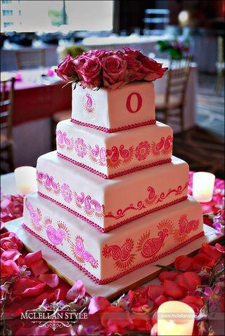 Sneha's Mendhi Cake