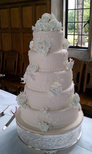 Wedgewood White Cake